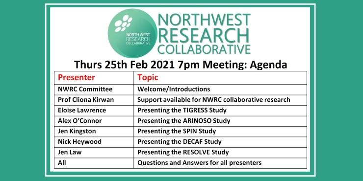 NWRC Feb 2021 Agenda